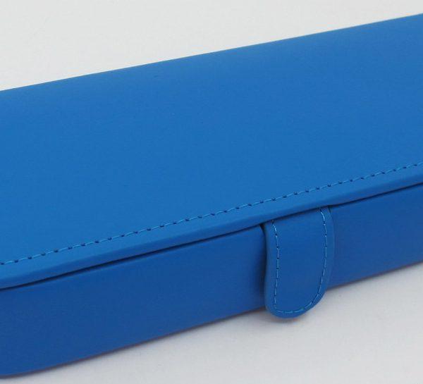 London Harness Jewelry Box, Blue