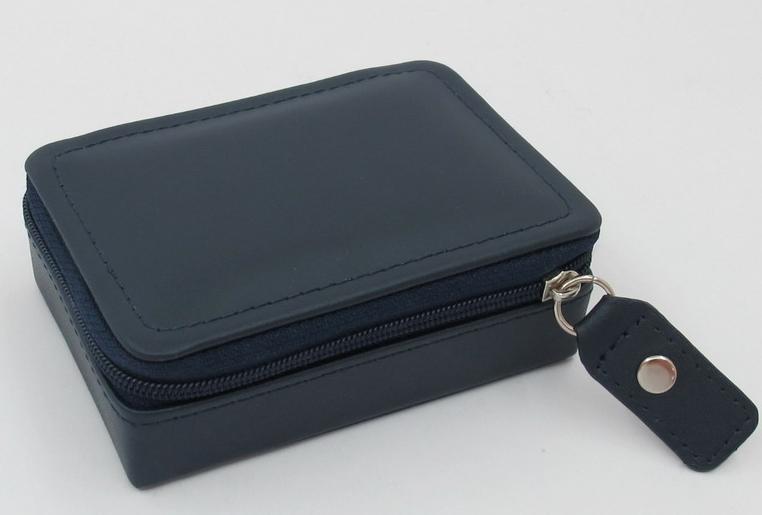 London Harness Mini Jewel Box, Navy