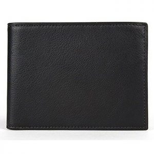 Bosca Executive ID Wallet Nappa Vitello Black