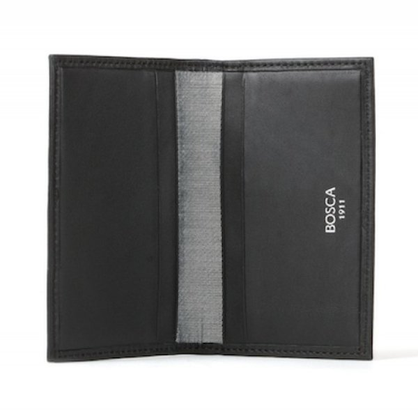 Bosca Card Case in Nappa Vitello