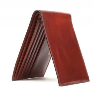 Bosca Executive ID Wallet Cognac