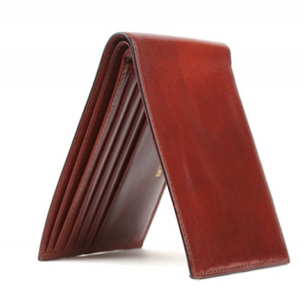 Bosca Executive ID Wallet in Cognac Old Leather
