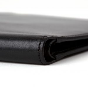 Bosca Executive ID Wallet in Black Old Leather