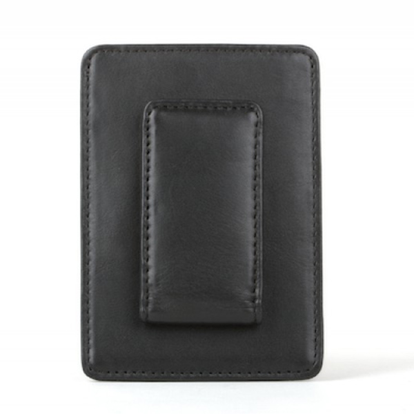 Bosca Front Pocket Money Clip Wallet in Nappa Vitello