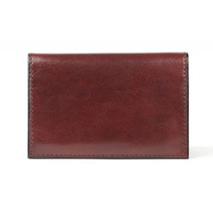 Bosca Card Case Dark Brown