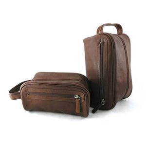 Dopp Kit in Brandy
