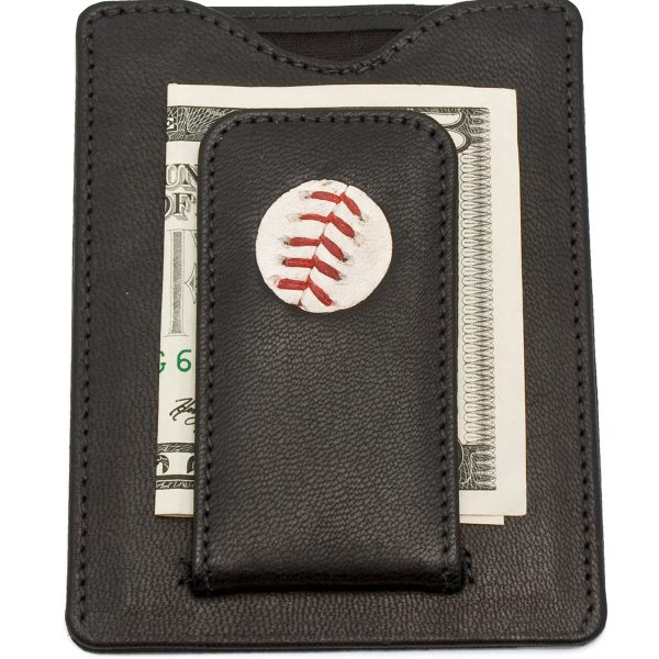 Tokens & Icons Boston Red Sox Baseball Money Clip Wallet