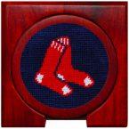Smathers and Branson Boston Red Sox Needlepoint Coaster Set