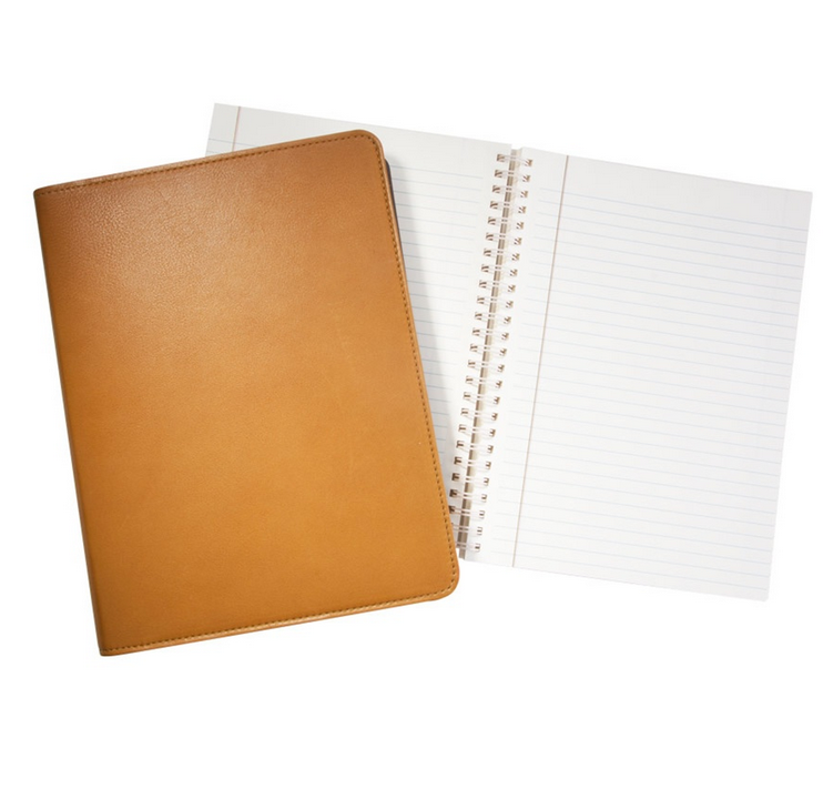 Leather Refillable 9″ Notebook