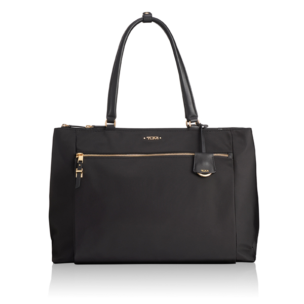 Tumi Sheryl Business Tote with Gold Hardware