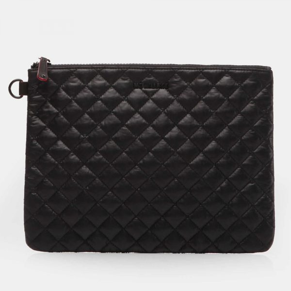 MZ Wallace Metro Pouch in Black