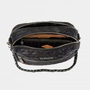 MZ Wallace Small Crosby, Black with Silver Hardware