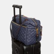 MZ Wallace Crosby Traveler, Dawn with Gold Hardware