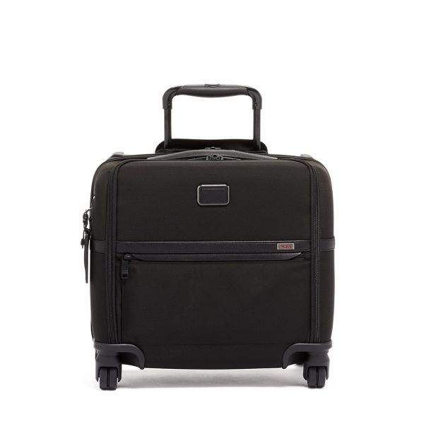 TUMI Compact 4 Wheeled Brief, Black