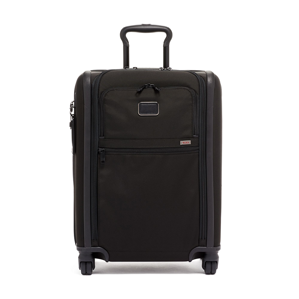 TUMI Continental Expandable 4 Wheeled Carry-On, Black