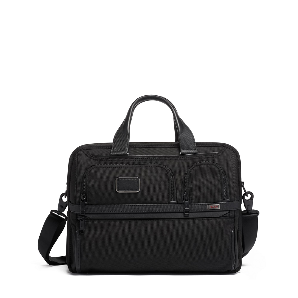 TUMI Expandable Organizer Laptop Brief