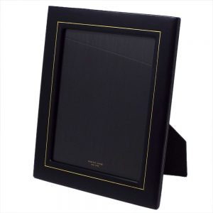 London Harness Leather Frame with Gold Tooling 8×10