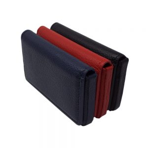 London Harness Magnetic Business Card Case