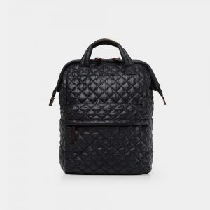 MZ Wallace Top Handle Backpack in Black