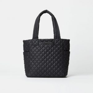 MZ Wallace Small Max Tote in Black