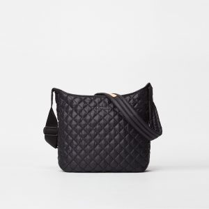MZ Wallace Parker Adjustable Crossbody in Black