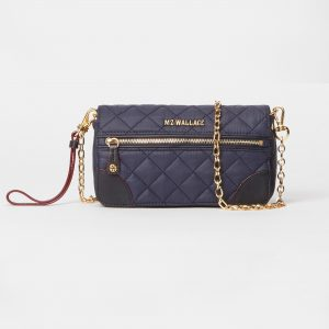MZ Wallace Crosby Convertible Wristlet in Dawn