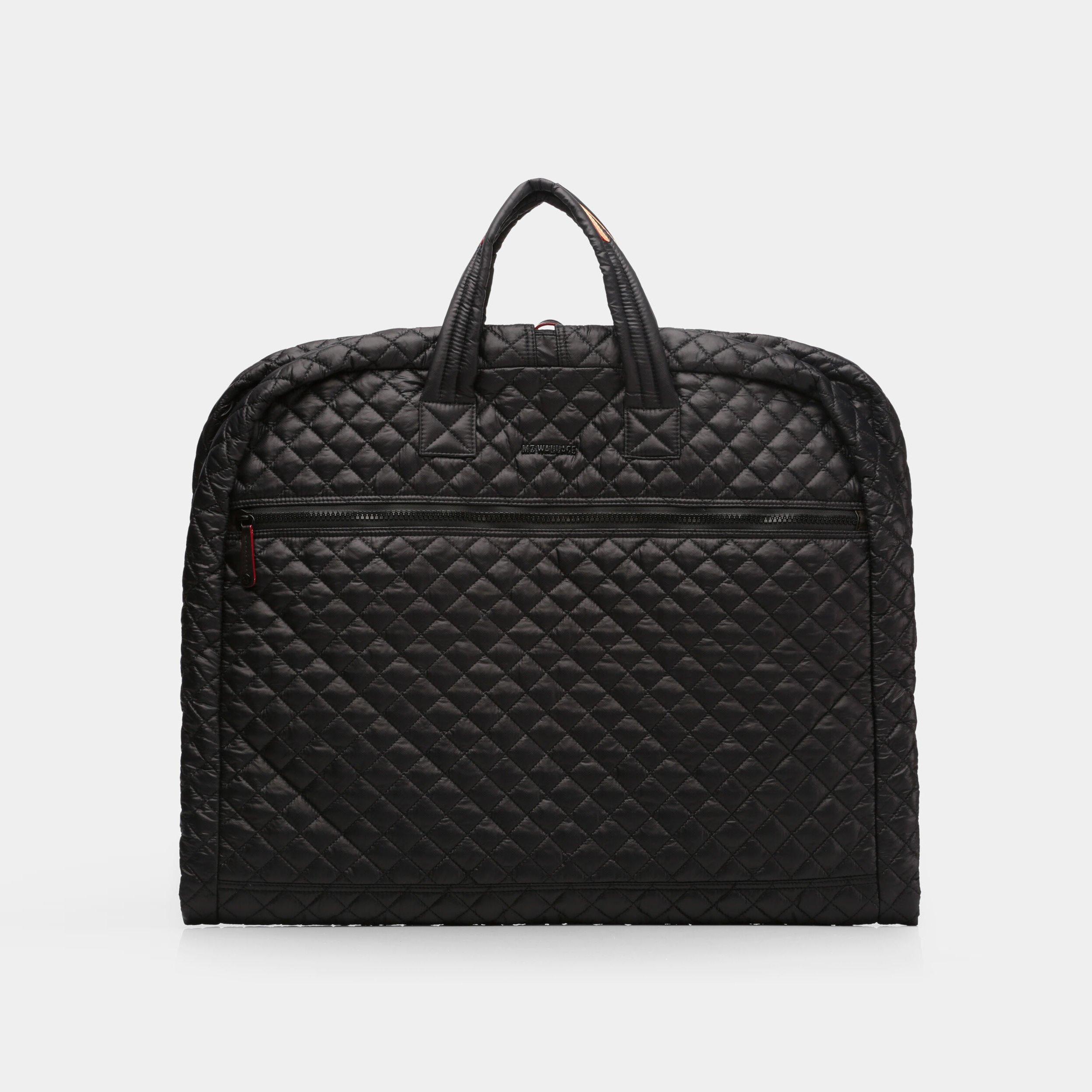 MZ Wallace Michael Garment Bag in Black