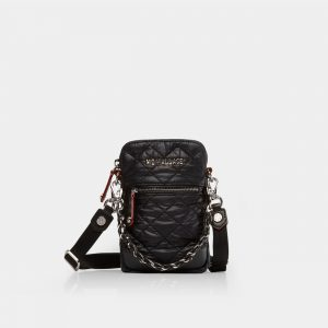 MZ Wallace Micro Crosby in Black