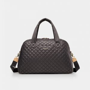 MZ Wallace Jim Travel Duffel in Magnet