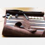 Sondergut Roll-Up Travel Backgammon Game