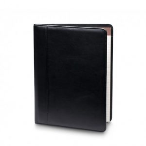 Bosca Writing Pad Cover in American Nappa