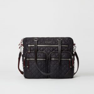 MZ Wallace Crosby City Bag in Black