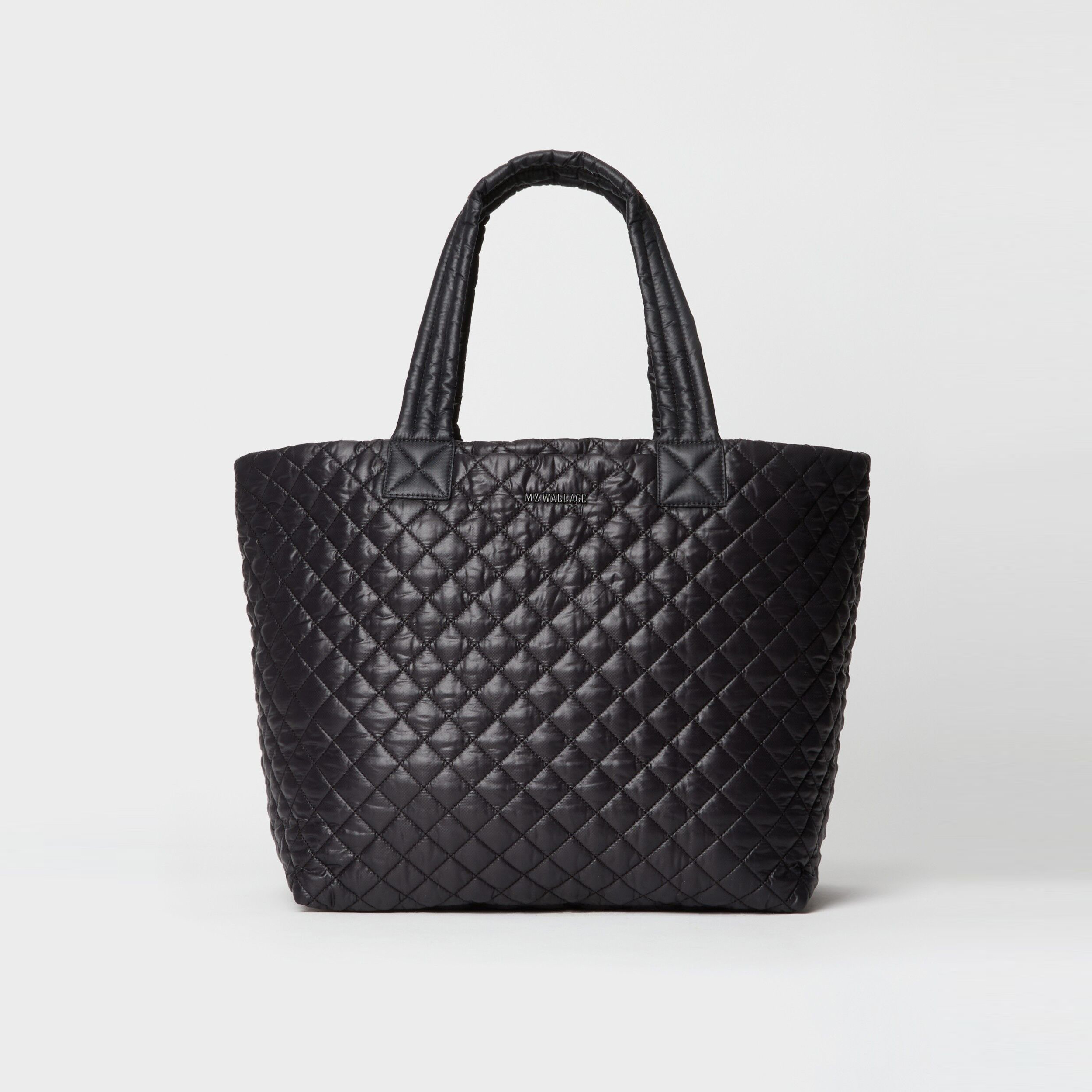 MZ Wallace Large Metro Tote Deluxe in Black
