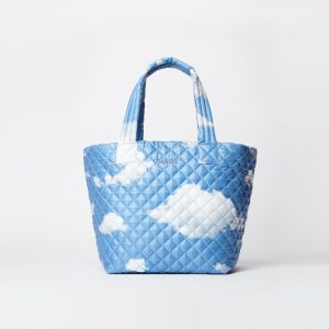 MZ Wallace Medium Metro Tote in Cloud Print