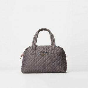 MZ Wallace Jimmy Travel Bag in Magnet