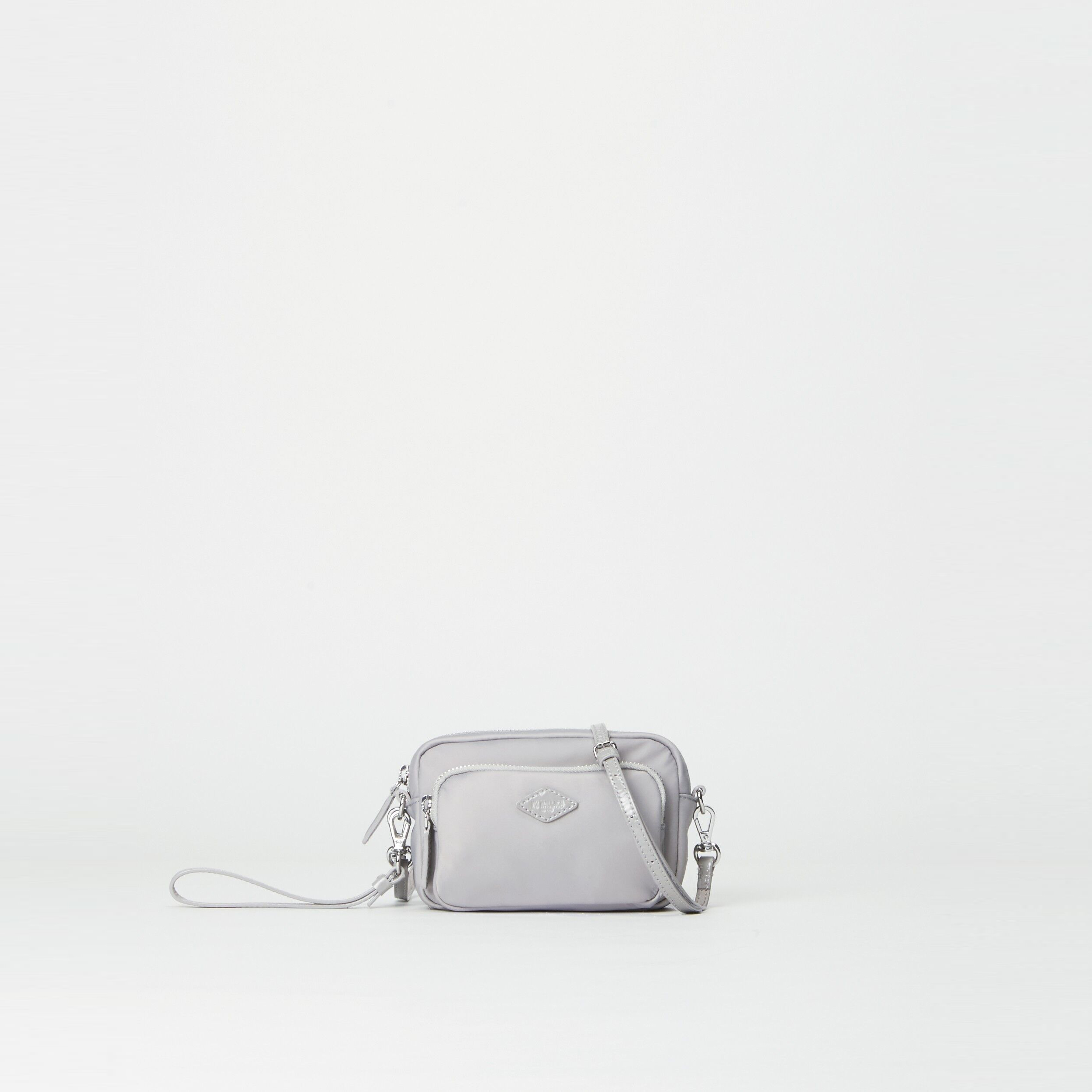 MZ Wallace Gramercy Mini Crossbody in Fog