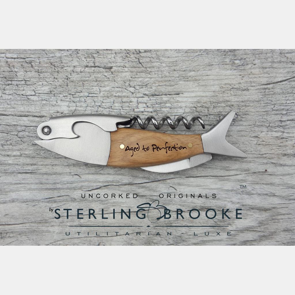 Sterling Brooke Single Hinged Crockscrew