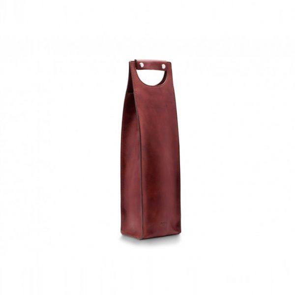 Bosca Wine Bottle Gift Bag in Brown