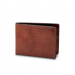 Bosca Small Bifold Wallet in Dolce
