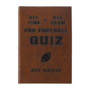 Graphic Image All Time, All Team Pro Foorball Quiz in Brown
