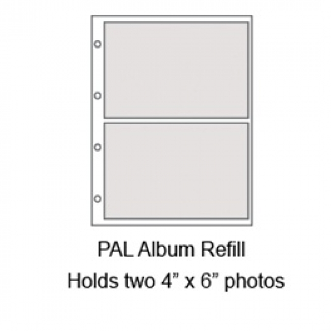 Graphic Image Medium Ring Photo Album Refills Pages