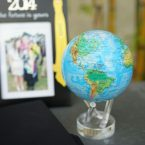 Mova Globe 4.5″ Blue Relief Map with Acrylic Base