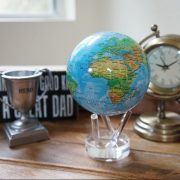 Mova Globe 6″ Blue Relief Map with Acrylic Base