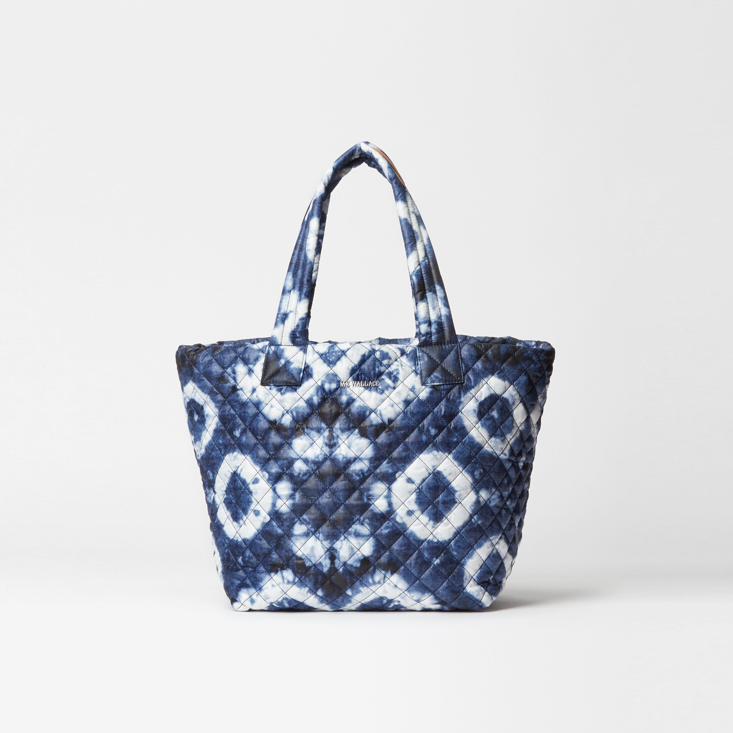 MZ Wallace Medium Metro Tote in Indigo Tie-Dye Oxford