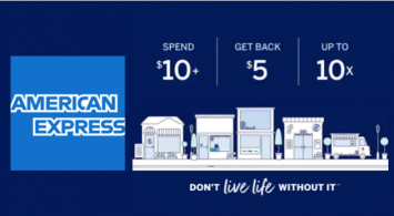 Amex giving cardmembers $50 each to shop small
