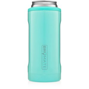 Brumate Hopsulator Slim Can – Aqua (12oz Slim Cans)