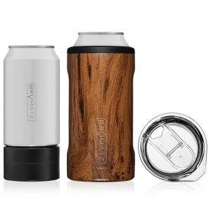 Brumate Hopsulator Trio 3-IN-1 Cool Can – Walnut