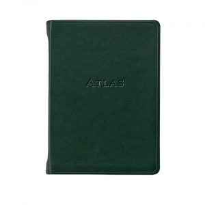 Graphic Image Traveler's Atlas in Green