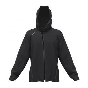 G95 Biohoodie Full Zip in Black