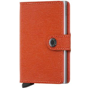Secrid Miniwallet Crisple in Orange